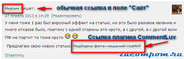commentluv-ssylka