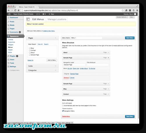 Как добавлять страницы и сообщения на ваш сайт WordPress
