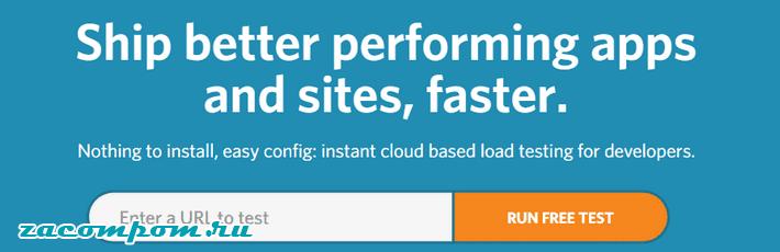 сервисы тестирования скорости страницы