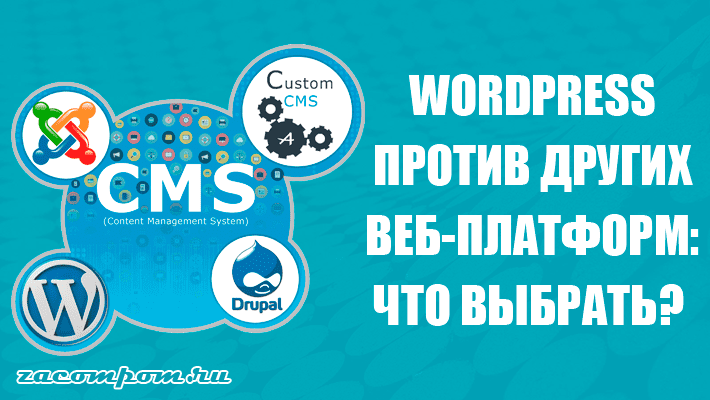 Wordpress против других веб-платформ: что выбрать?