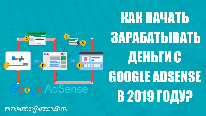Как заработать деньги с помощью Google AdSense в 2019 году
